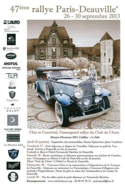 Rallye Paris Deauville Sponsors Sprung Frères