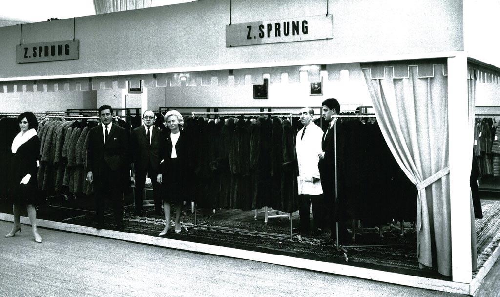 La famille Sprung Frères en 1966