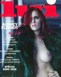 Audrey Fleurot couverture Lui magazine Sprung juin 2016