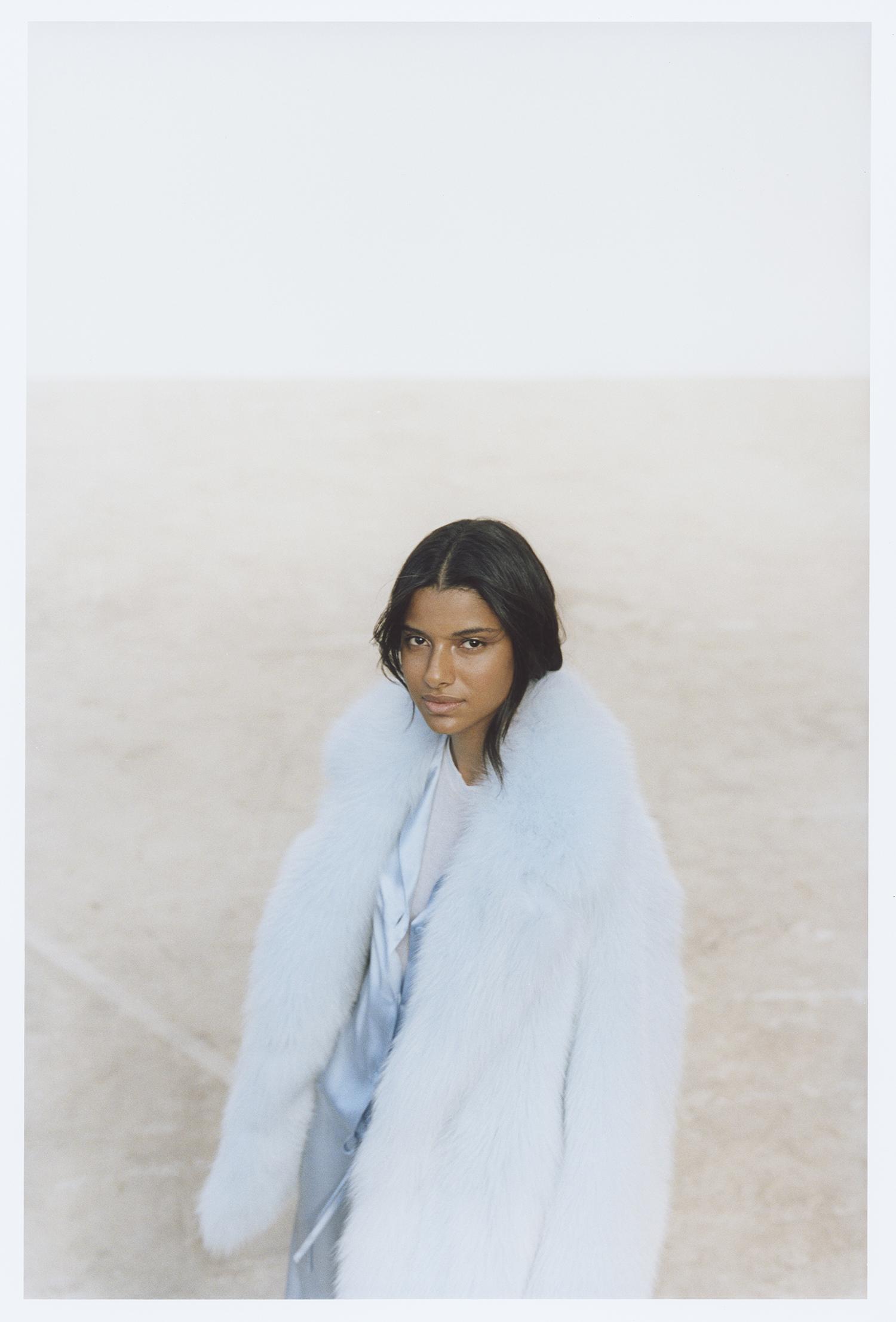 Maja manteau en renard