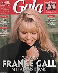 Parution dans le magazine Gala février 2018